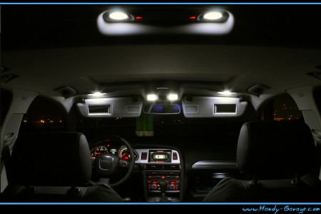 on Smd Led Innenraumbeleuchtung Audi A4 B7 Avant 16led